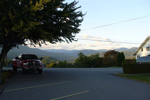 Truck - Stay at our scenic motel or RV campground in Bryson City, North Carolina, for your next vacation spot.